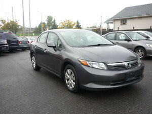 2012 Honda Civic LX Sedan with ECON System