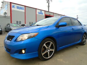2009 Toyota Corolla XRS SPORT-SUNROOF--2.4L 4 CYL--5 SPEED-CLEAN