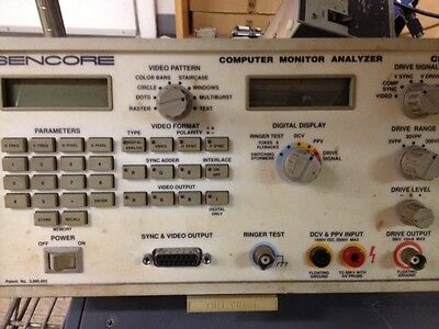 Sencor Computer Monitor Analyzer Cm2000