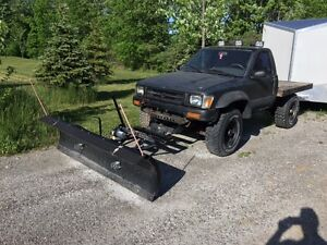 1992 Toyota Other Pickups Pickup Truck with snowbear plow