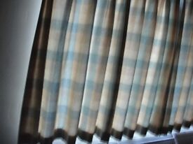 Laura Ashley Lined Hand Finished Pinch Pleat Curtains