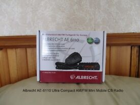 Albrecht AE-6110 Mini Mobile CB Radio