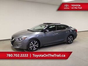 2018 Nissan Maxima SL; LEATHER, CAR STARTER, NAV, HEATED SEATS/W