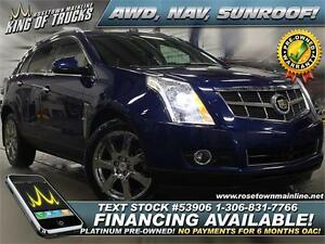 2012 Cadillac SRX Premium Collection AWD | Sunroof | PST PAID