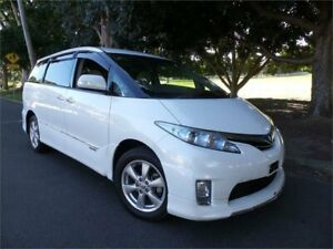 2012 Toyota Estima Hybrid 4WD 2012 E-Four X 4WD White Automatic Mini Bus West Ryde Ryde Area Preview