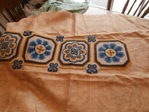 Rug Hooking Pattern and Wool to Complete It