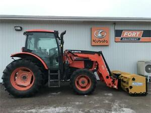 Kubota M100GX Tractor with Loader