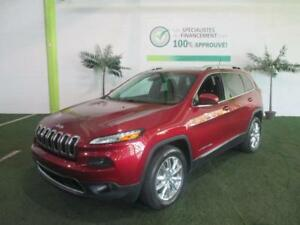 JEEP CHEROKEE 2015 4WD*TOIT PANO,GPS,BANCS ET VOLANT CHAUFFANTS+