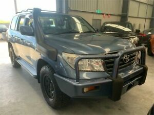 2008 Toyota Landcruiser UZJ200R GXL Blue 5 Speed Sports Automatic Wagon Boolaroo Lake Macquarie Area Preview