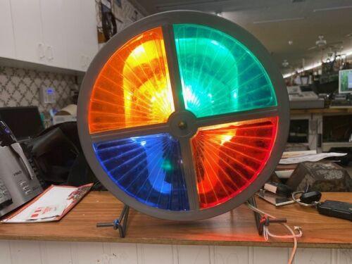 Vintage Colortone Electric Roto-Wheel With Original Box