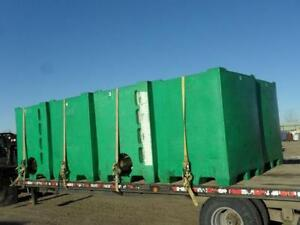 Commercial PLASTIC Green Totes for sale $300.00 each
