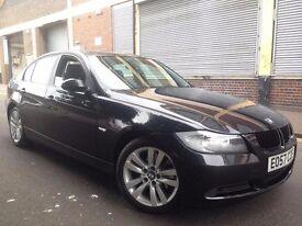 BMW 3 SERIES 2008 2.0 320d SE Saloon 4 door Diesel Automatic HUGE SPEC, LEATHER, AUTO BOX, BARGAIN