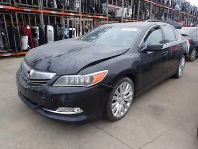 Black Passenger Rear Door Fits 2015 Acura RLX
