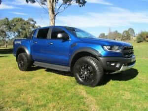 2018 Ford Ranger PX MkIII 2019.00MY Raptor Pick-up Double Cab Blue 10 Speed Sports Automatic Utility Lucknow East Gippsland Preview