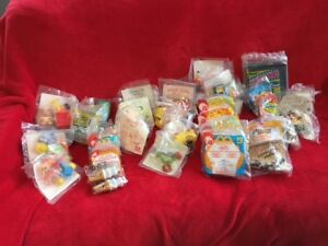 46 VINTAGE SEALED  McDonald's  HAPPY MEAL TREATS