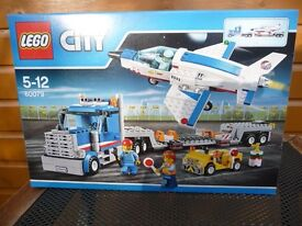 LEGO CITY SET 60079 LARGE JET TRANSPORTER BNISB