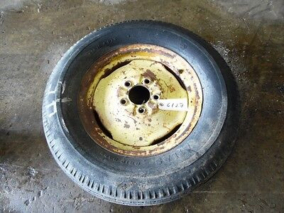 John Deere Tractor Front Tirerim 6.50 - 15 5 Lug Tag 6127