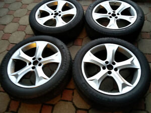 4 mags originals TOYOTA VENZA 5x114.3 20 POUCES MICHELIN TPMS