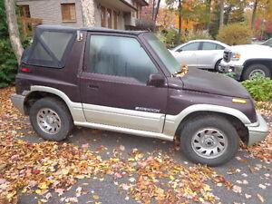 1998 Suzuki Sidekick Cabriolet
