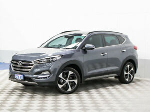 2016 Hyundai Tucson TLE Highlander R-Series (awd) Pepper Gray 6 Speed Automatic Wagon