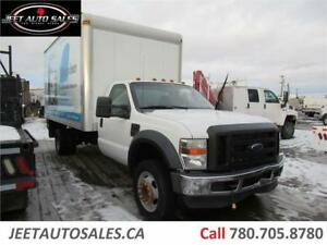 2008 Ford F-550 Cube Van body Truck