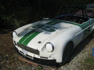 1963 MGB Race Car