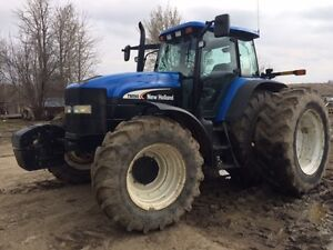 NEW HOLLAND TM190 TRACTOR FOR SALE