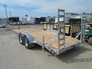 PROFESSIONAL SERIES 7X18 GALVANIZED EQUIPMENT TRAILER N&N London Ontario image 2