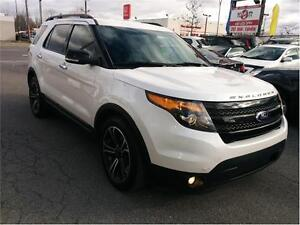 2013 Ford Explorer Sport, 7 PLACE,4X4, NAV, CAM, CUIR, MAGS,...