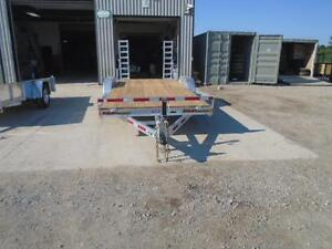 PROFESSIONAL SERIES 7X18 GALVANIZED EQUIPMENT TRAILER N&N London Ontario image 4