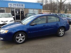 2006 Saturn Ion Sedan Uplevel Fully Certified! Carproof verified