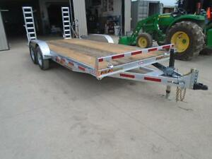 PROFESSIONAL SERIES 7X18 GALVANIZED EQUIPMENT TRAILER N&N London Ontario image 6