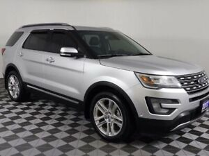 2017 Ford Explorer LIMITED w/HEATED LEATHER, PANORAMIC ROOF, NAV