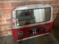 Brand New Boxed Vintage Metal Truck Front Mirror