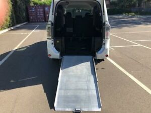 2013 Toyota Voxy White Automatic Wagon Five Dock Canada Bay Area Preview