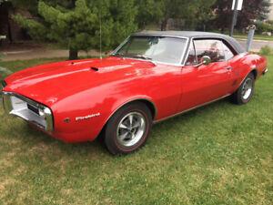 1967 Firebird 400 Matching Original