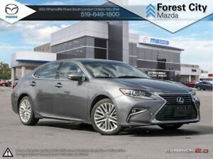 2016 Lexus ES 350 | Leather Heated Cooled Seats | Sunroof |