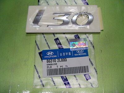 "Genuine Hyundai ""i 30"" Rear Trunk Script letters Emblem"
