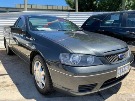 2006 Ford Falcon BF Mk II XL Ute Super Cab Grey 4 Speed Sports Automatic Utility Maidstone Maribyrnong Area Preview