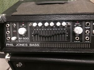 Ampli de basse Phil Jones