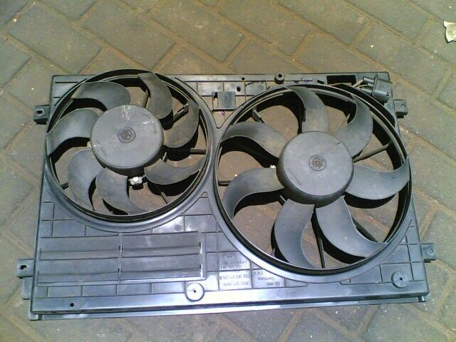 caddy 2 double  cooling fans