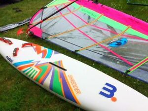 Mistral Shredder Windsurfer Excellent Condition! Complete Set