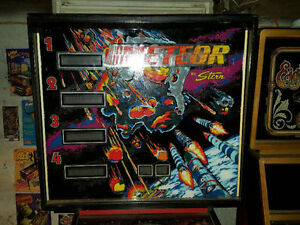 STERN METEOR PINBALL MACHINE FOR SALE London Ontario image 4