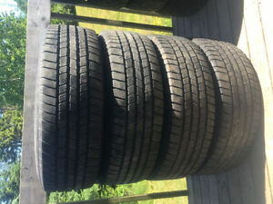 Four LT245/75R16 All Season Tires