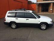 2001 Subaru Forester 79V MY01 GX AWD White 4 Speed Automatic Wagon Christies Beach Morphett Vale Area Preview