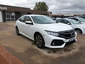 2018 Honda Civic VTi-S White Automatic Liftback Young Young Area Preview