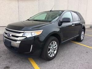 2011 FORD EDGE SEL AWD, PANO ROOF, BACKING SENSORS, NAVI!!