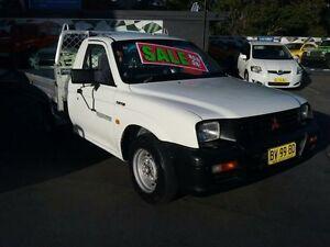 2001 Mitsubishi Triton MK GL White 5 Speed Manual Cab Chassis Greenacre Bankstown Area Preview