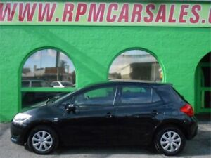 2008 Toyota Corolla ZRE152R Ascent Black 6 Speed Manual Hatchback Nailsworth Prospect Area Preview