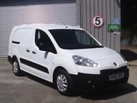Peugeot Partner L2 716 1.6 92 CREW VAN EURO 5 DIESEL MANUAL WHITE (2012)